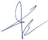 Ahmad Syafii-Signature